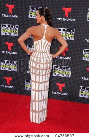 LOS ANGELES - OCT 8:  Gaby Espino at the Latin American Music Awards at the Dolby Theater on October 8, 2015 in Los Angeles, CA