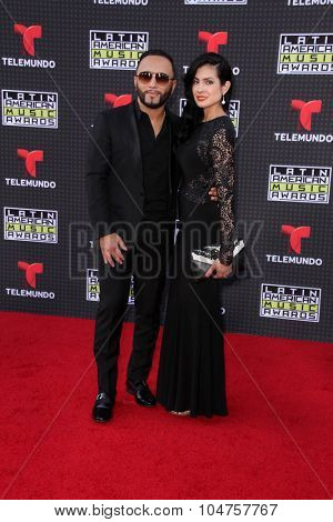 LOS ANGELES - OCT 8:  Alex Sensation at the Latin American Music Awards at the Dolby Theater on October 8, 2015 in Los Angeles, CA
