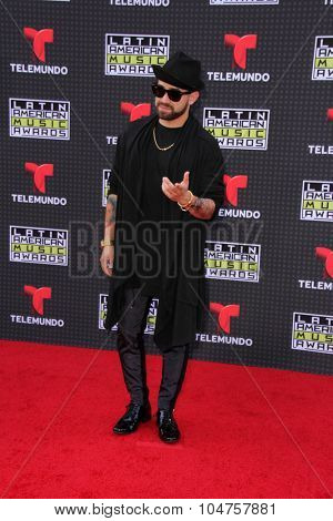 LOS ANGELES - OCT 8:  Nacho at the Latin American Music Awards at the Dolby Theater on October 8, 2015 in Los Angeles, CA