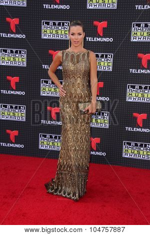LOS ANGELES - OCT 8:  Ximena Duque at the Latin American Music Awards at the Dolby Theater on October 8, 2015 in Los Angeles, CA