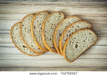 Sliced Wheaten Bread