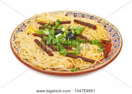 Spaghetti Sausage
