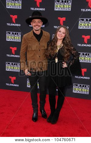 LOS ANGELES - OCT 8:  Jesse & Joy at the Latin American Music Awards at the Dolby Theater on October 8, 2015 in Los Angeles, CA