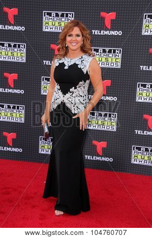 LOS ANGELES - OCT 8:  Mar���­a Celeste Arraras at the Latin American Music Awards at the Dolby Theater on October 8, 2015 in Los Angeles, CA
