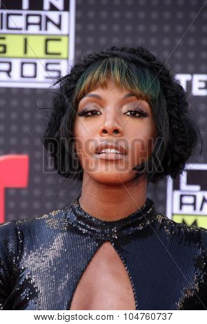 LOS ANGELES - OCT 8:  Dawn Richard at the Latin American Music Awards at the Dolby Theater on October 8, 2015 in Los Angeles, CA