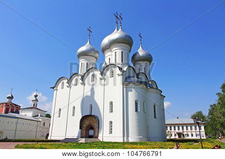 St. Sophia Cathedral. Vologda,russia.