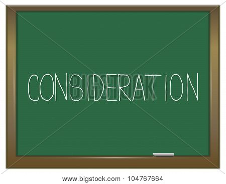 Consideration Concept.