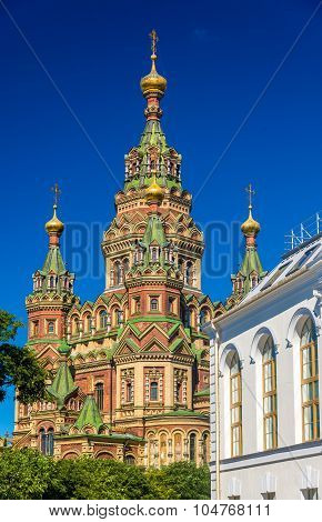 St. Peter And Paul Cathedral In Peterhof - Russia