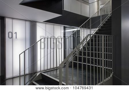 Stairs In Modern Office