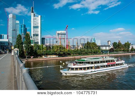 Frankfurt Am Main Downtown. Germany