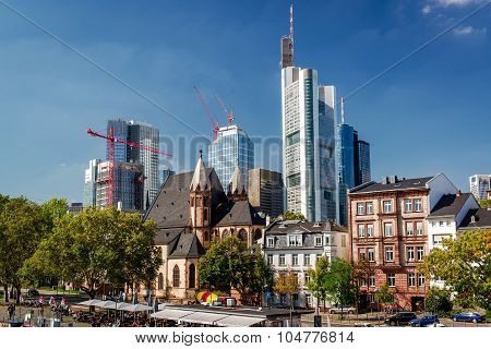 Frankfurt Am Main Skyline, Germany