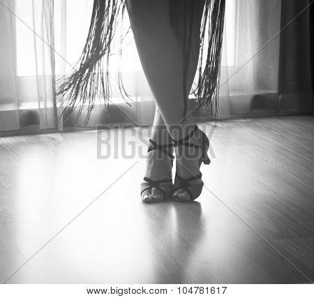 Shoes Feet Legs Female Ballroom Dance Teacher Dancer