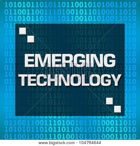 Emerging Technology Binary Background