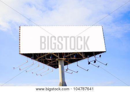 tripartite empty billboard