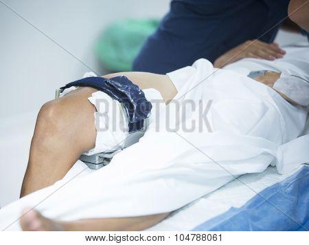 Traumatology Orthopedic Surgery Knee Arthroscopy