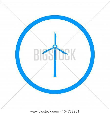 Wind Turbine Icon