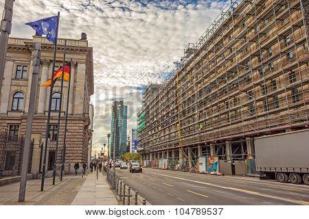 Street Leipziger Strasse, Berlin