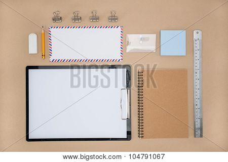 Office Supply Of Stationary In Everyday Life,  Plan Work