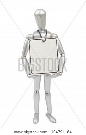 Model Mannequin Man Isolated