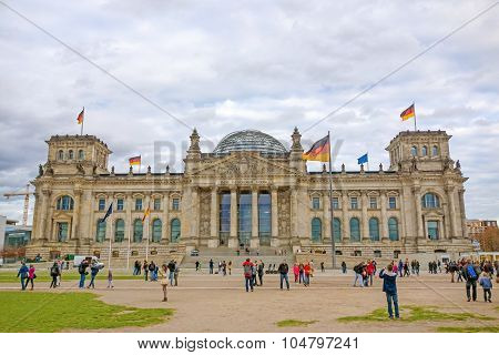German Reichstag Building, Berlin, Germany