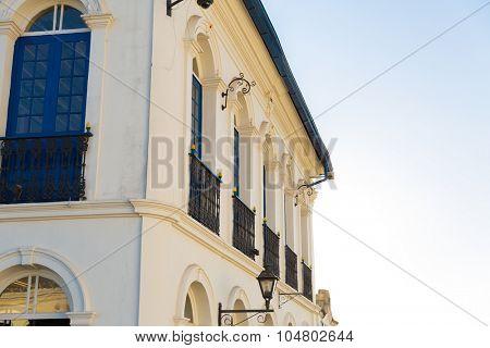 Colonial house in Ouro Preto, Minas Gerais, Brazil