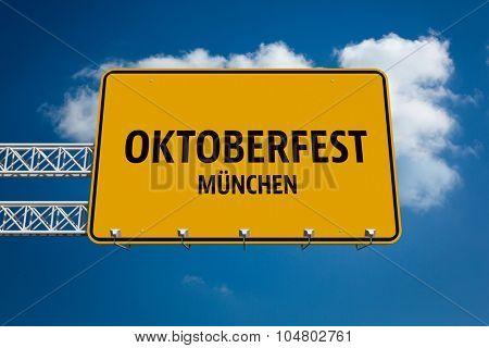 Oktoberfest munchen against sky