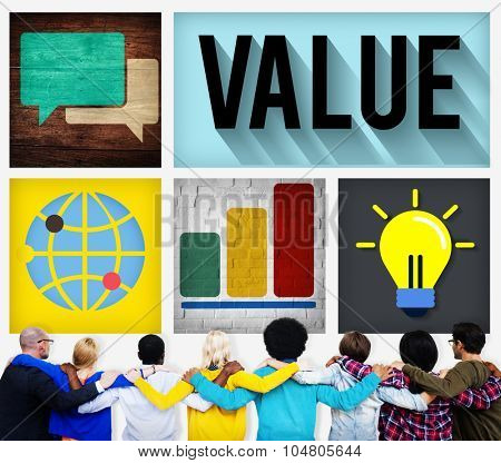 Values Respect Money Economy Finance Concept
