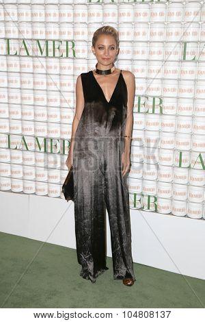 LOS ANGELES - OCT 13:  Nicole Richie at the La Mer Celebration Of An Icon Global Event at the Siren Studios on October 13, 2015 in Los Angeles, CA