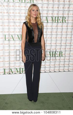 LOS ANGELES - OCT 13:  Gwyneth Paltrow at the La Mer Celebration Of An Icon Global Event at the Siren Studios on October 13, 2015 in Los Angeles, CA