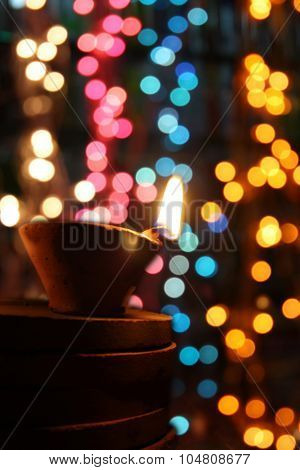 Diwali Light And Colors