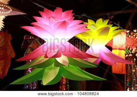 Flower Shaped Diwali Lanterns