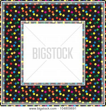Dot Black Border