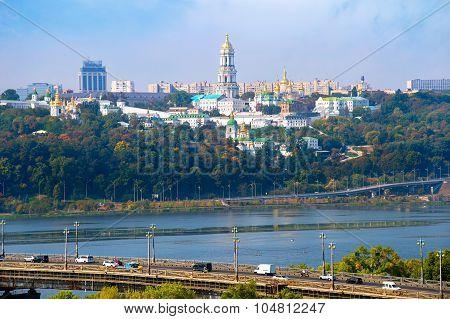 Skyline Of Kiev, Ukraine