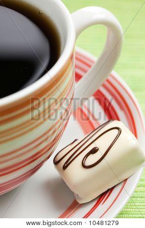 Chocolate Praline And Coffee Cup