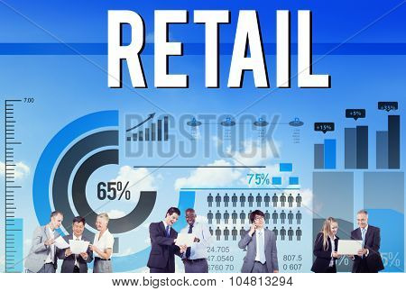 Retail Purchase Sale Consumer Capitalism Concept