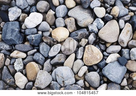 Multi Colored Pebbles rocks Backgrounds Concept
