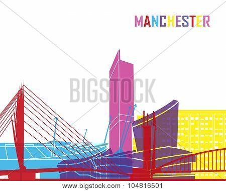 Manchester Skyline Pop