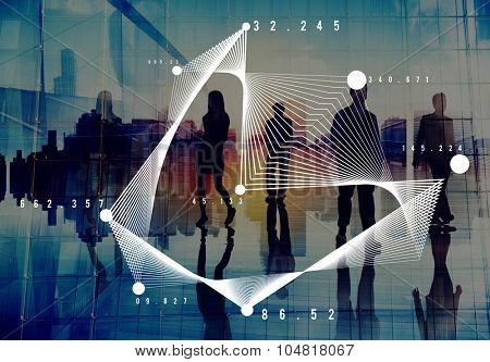 Mathematics Analysis Statistics Networking Geometry Concept