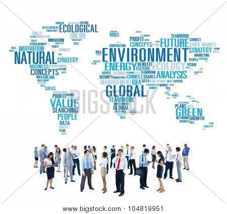 Environment Ecology Conservation Productivity Concept