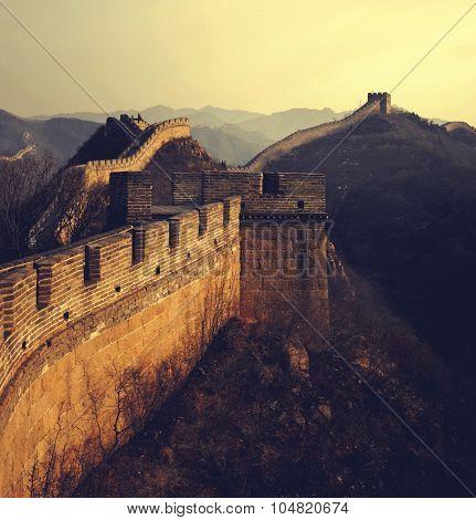 Great Wall of China History Ancient Concept