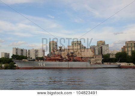 Old war ship