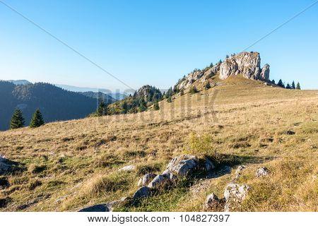 Limestone Peak Named King's Well - Greater Fatra-slovakia