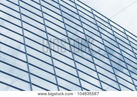 Glass windows.