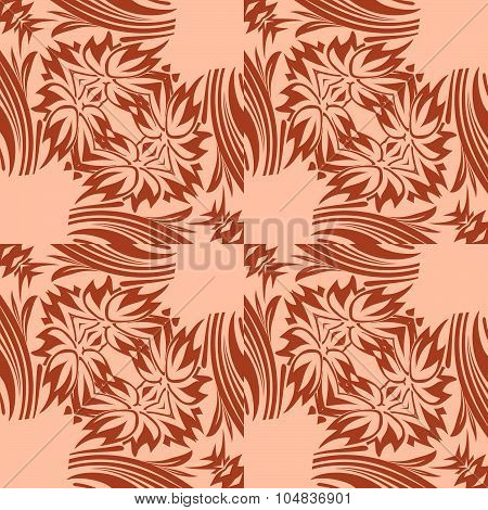 Art Deco Vector Seamless Geometric Pattern