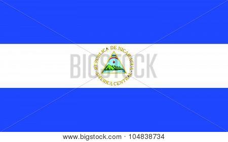Flag Of Nicaragua