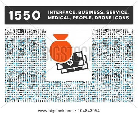 Capital Icon and More Interface, Business, Medical, People, Awards Vector Symbols