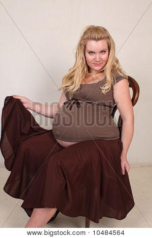 beautiful pregnant lady