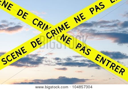 Crime Scene Do Not Enter