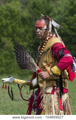 Traditional Native American Man