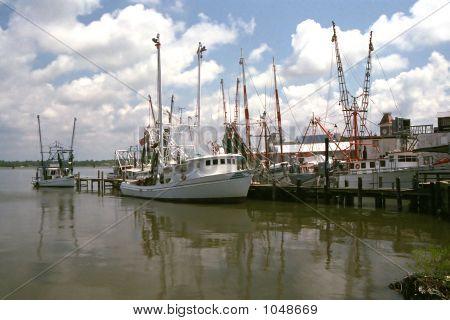 Shrimp Boats - Mississippi